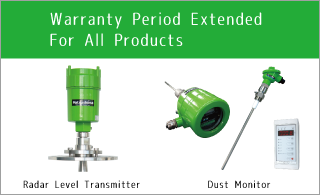 Announcement for extension of Warranty Period