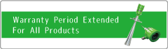 Warranty Preriod Extended For All Products!!