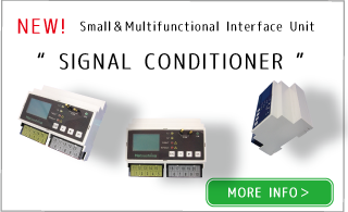 "Newly launched all-in-one Interface unit!!""SIGNAL CONDITIONER"""