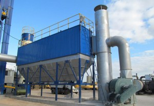 Baghouse-dust-collector-for-asphalt-plants