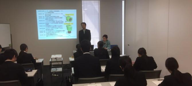 福岡マイナビで企業説明会しました。